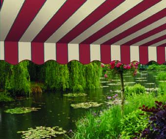 Acheter toile de store Classiques  & Traditions Ref : A 3150 NC BRIQUE - CALCAIRE