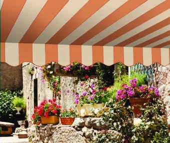 Acheter toile de store Classiques  & Traditions Ref : A 3303 NC SAUMON - PIERRE