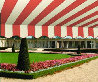 Acheter toile de store Classiques  & Traditions Ref : A 3354 NC ABRICOT - PIERRE