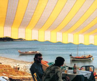 Acheter toile de store Classiques  & Traditions Ref : A 431 LAVANDOU JAUNE
