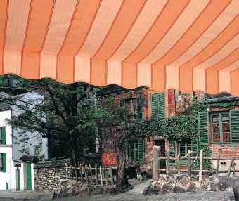 Acheter toile de store Classiques  & Traditions Ref : A 432 LAVANDOU SAUMON