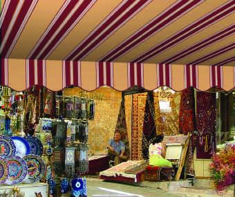 Acheter toile de store Classiques  & Traditions Ref : A 4424 GUADELOUPE