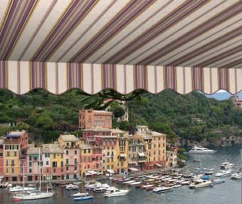 Acheter toile de store Classiques  & Traditions Ref : A 7455 PANAM'ACRYL CALYPSO BRIQU