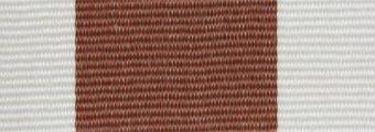Acheter toile de store Classiques  & Traditions Ref : acrylique A 382 brun-blanc