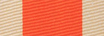 Acheter toile de store Classiques  & Traditions Ref : acrylique A 385 orange-creme