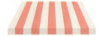 Acheter toile de store Irisun Ref : BYE 3215 ROSE/BLANC
