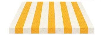 Acheter toile de store Irisun Ref : BYE 4430 CANARI/BLANC