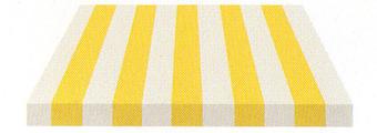 Acheter toile de store Irisun Ref : BYE 4435 PAILLE/BLANC