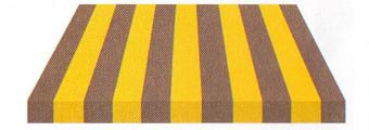 Acheter toile de store Irisun Ref : BYE 8417 JAUNE/GRIS