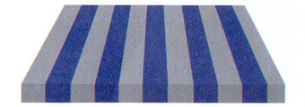 Acheter toile de store Irisun Ref : BYE 8459 BLEU VIF/CHINE BLEU