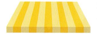 Acheter toile de store Irisun Ref : BYE 8522 JAUNE/CREME