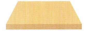 Acheter toile de store Irisun Ref : BYU 421 MILLERAIES ORANGE
