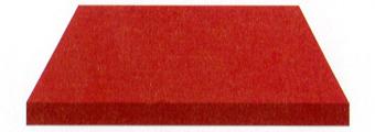 Acheter toile de store Irisun Ref : BYU 75 ROUGE