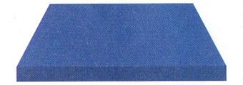 Acheter toile de store Irisun Ref : BYU 82 BLEU VIF